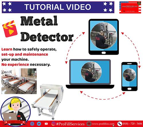Tutorial Video (Metal Detector)