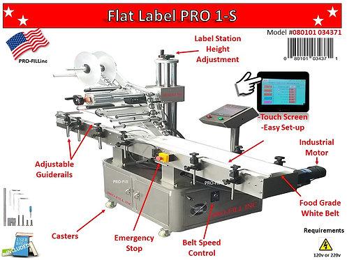 Flat Label Pro 1-S #34371