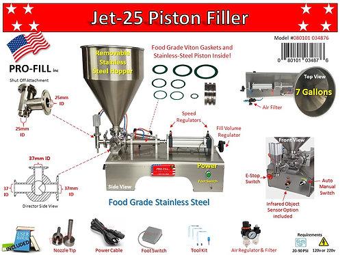 Jet A&E Viton kit 25mm S.O.A & 37mm Director