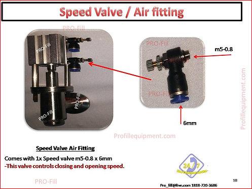 Speed Valve / Air Fitting