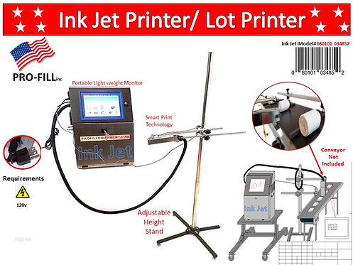 Ink Jet Printer / Lot Code Printer #34852