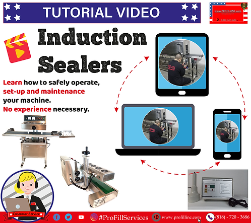Tutorial Video (Induction Sealers)