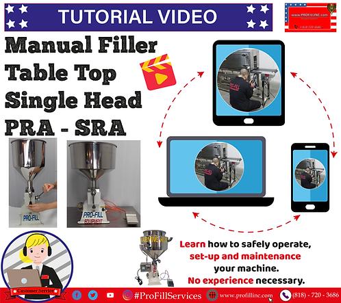 Tutorial Video (ManualFiller PRA & SRA)