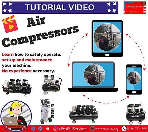 Tutorial Video (Air compressors)
