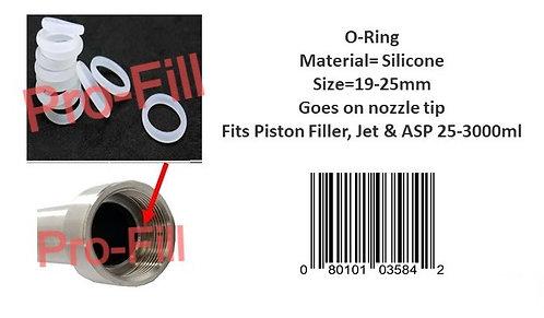 Nozzle Tip O-Ring (Silicone/Viton)