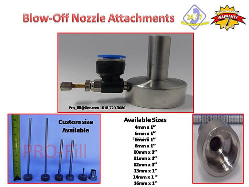 Blow Off Nozzle Tips (Jet & ASP)