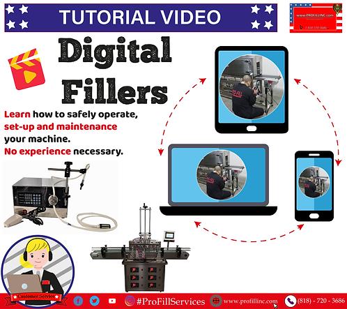 Tutorial Video (Digital Fillers)