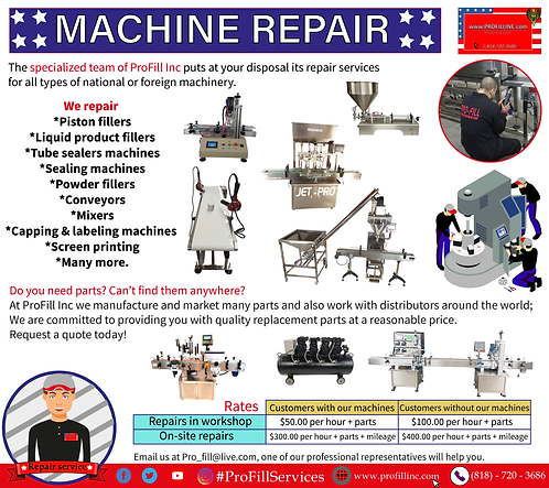 Machine Repair Service