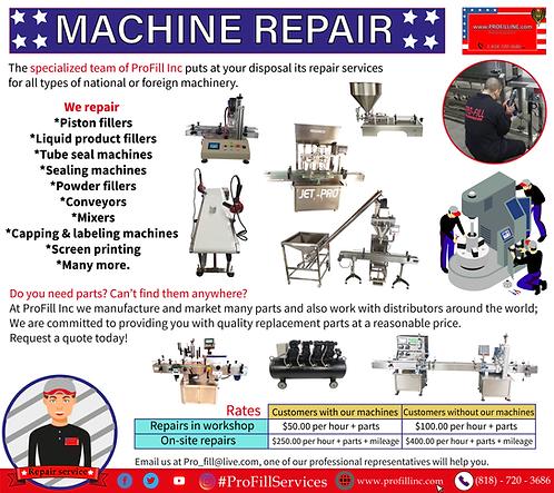 Machine Repair Service