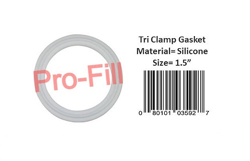 Tri Clamp Gasket (Silicone)