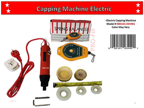 Electric Manual Capping Machine #34401