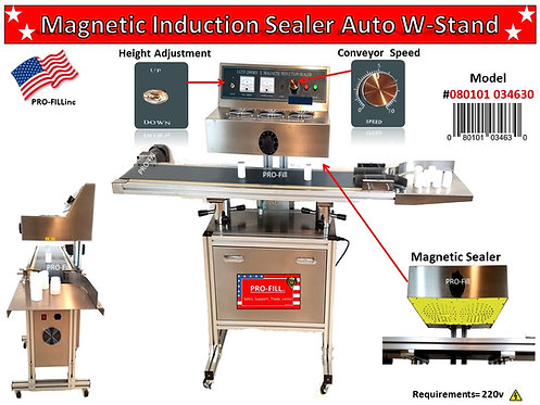 Magnetic Induction Sealer Auto w-stand #34630