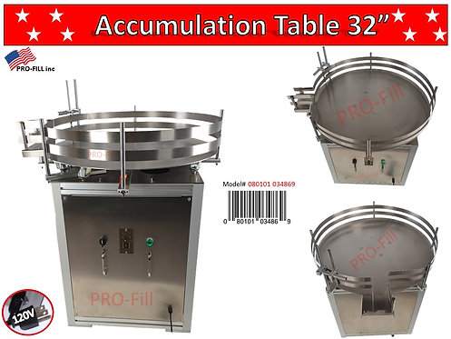 "Accumulation Turn Table- 32""inch #34869"