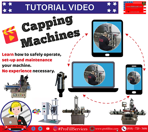 Tutorial Video (Capping Machines)