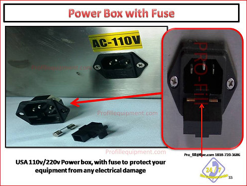 Power Box-With Fuse - Fits all Jet & ASP Models