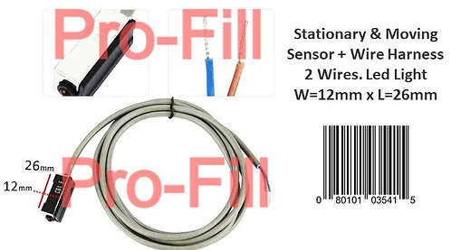 Stationary & Moving Sensor + Wire Harness