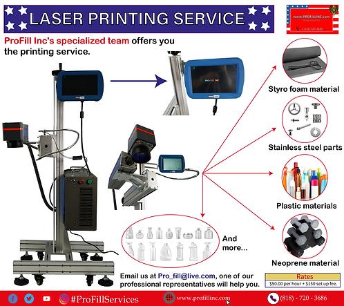 Laser printing service