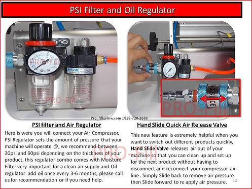 PSI Filter And Oil Regulator- Fits Jets & ASP