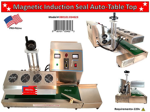 Magnetic Induction Seal Auto Table Top #080101034623