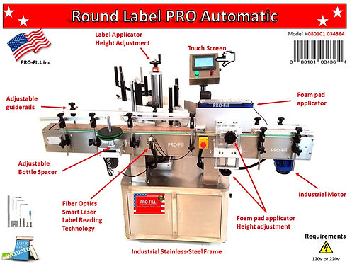 Round Label  PRO Automatic #080101034364