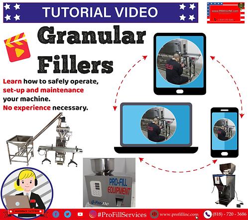 Tutorial Video (GranularFillers)