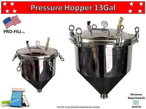 Pressure Hopper 13Gal