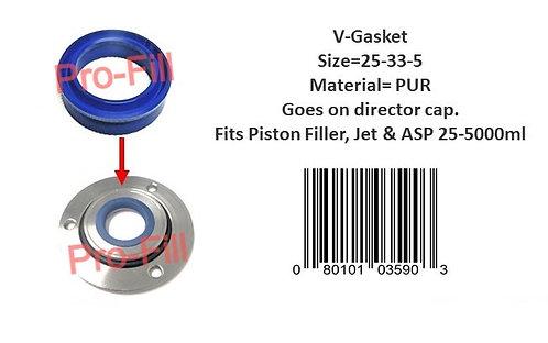 Director Cap V-Gasket