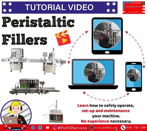 Tutorial Video (Peristaltic Fillers)