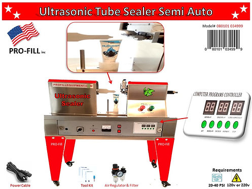 Ultrasonic Tube Sealer Semi-Auto #080101034999