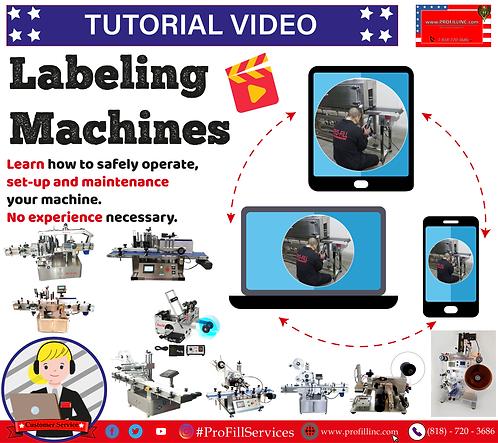 Tutorial Video (Labeling Machines)