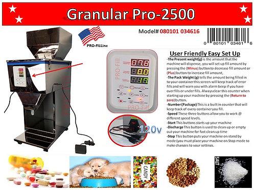 Granular Fillers (GP-2500) #34616