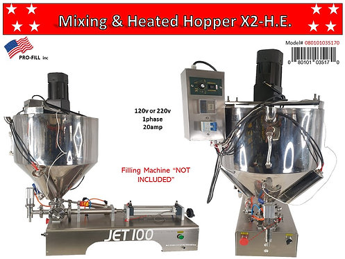 Mixing & Heated Hopper Rental