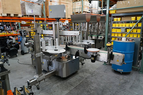 Label Air Inc, Double Side Round, Flat & Oval Labeling Machine