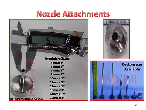 Nozzle Tip Attachments (JET & ASP)