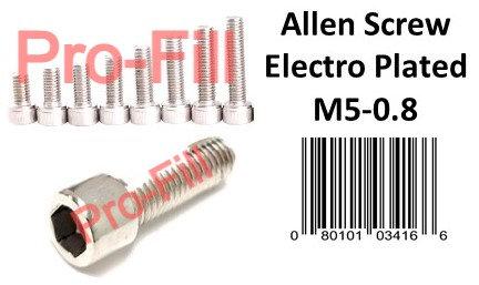 Allen Screws / Electro Plated
