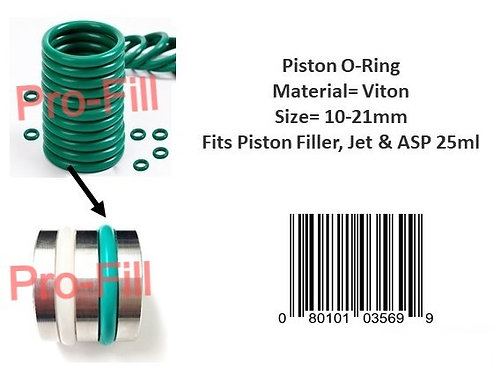 Piston O-Rings (Viton)