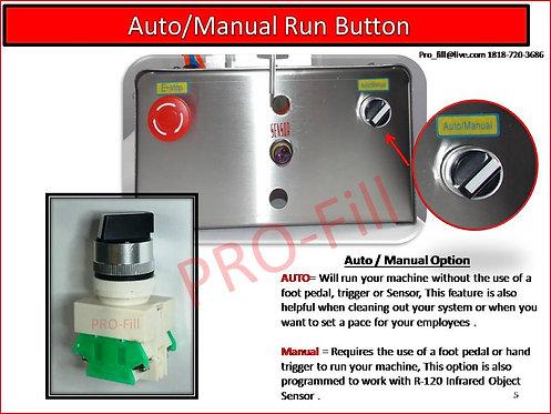 Auto/Manual Button / Fits Jet & ASP