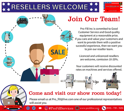 Reseller's Welcome