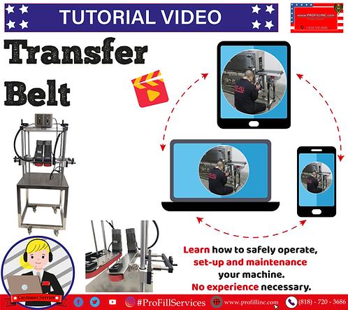 Tutorial Video (Transfer Belt)