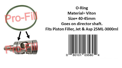 Director Shaft O-Ring (Viton)