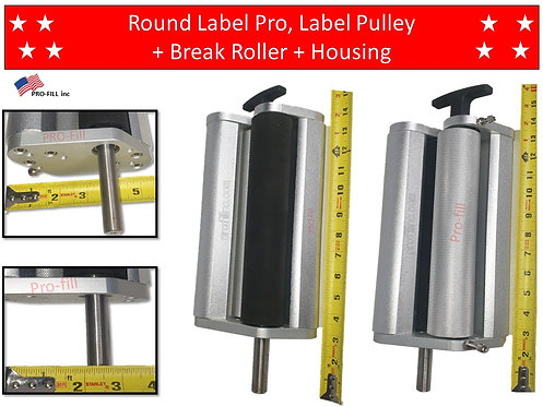Round Label Pro, Pulley + Break Roller + Housing