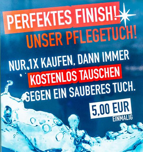 Perfektes Finish!