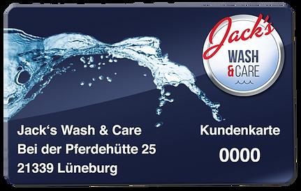 Jack's Prepaid-Karte