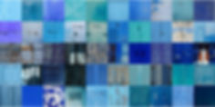 50 HUES OF BLUE