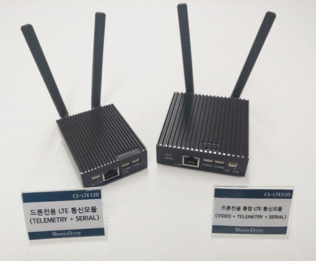 """""""㈜블루젠드론, 국내 최초 `산업용 드론 전용 LTE 통합 통신모듈` 상용화 성공… 정식 판매 시작"""""""