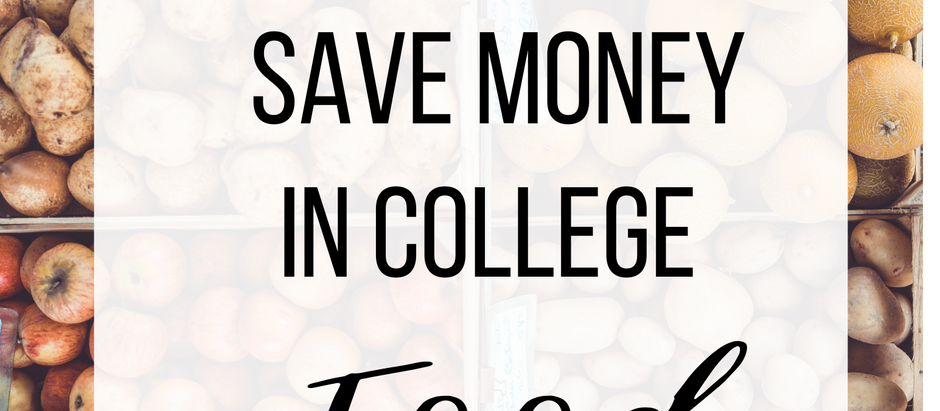 10 Ways To Save on Groceries For College Students