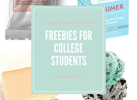 April Freebies For College Students