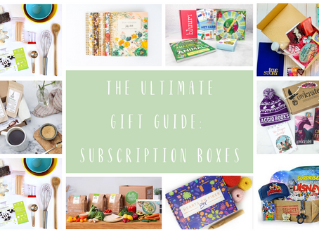 The Ultimate Holiday Gift Guide: Subscription Boxes