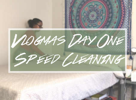 🎄Vlogmas 2019: Day 1 - Speed Clean With Me (Winter Edition)🎄