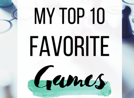 10 Games to Play When Bored!